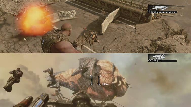 SkilfulWinter19 playing Gears of War 3