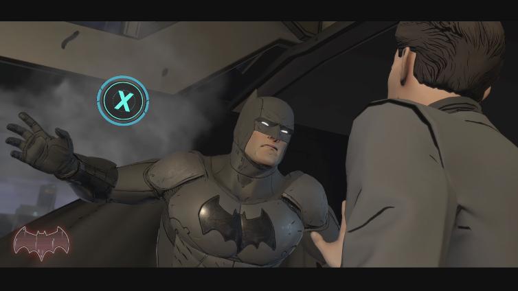 André Filipe playing BATMAN – The Telltale Series